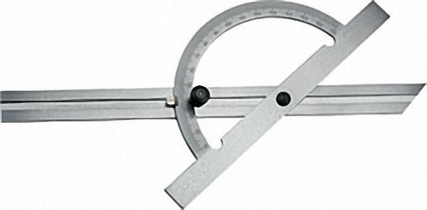 Gradmesser 10-170° Stahl, verchromt, Standard- ausführung, 150 x 300mm