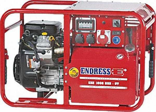 ENDRESS Stromerzeuger ESE 1006 DBS-GT Leistung kVA/kw 11,0/8, 8 Größe: 930x560x630mm