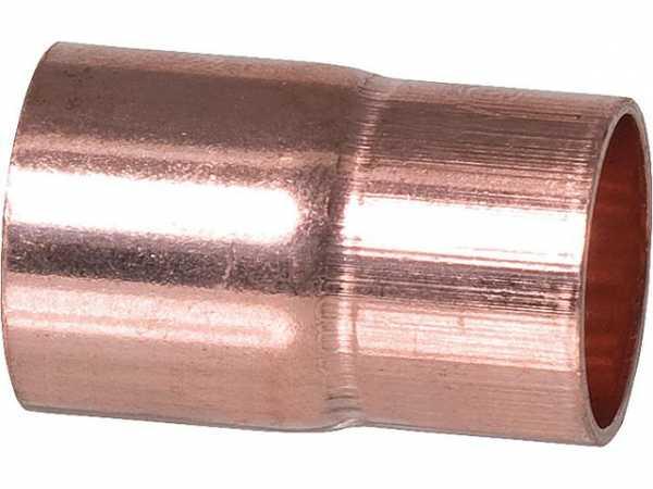 28 x 15 mm Lötfitting Absatznippel-Cu IA CU-Fittinge