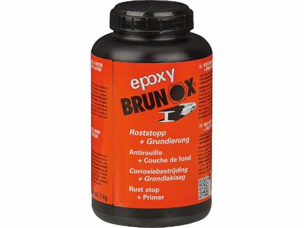 Rostumwandler und Grundierung BRUNOX epoxy 1000ml Dose