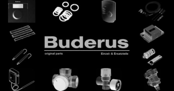 Buderus 5885651 Stauscheibe TE 1.0-68G kpl verp