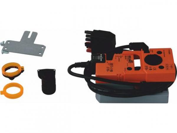 WOLF 2269518 Primärluftklappenmotor kpl. mit Ponti,Siemens GEB 332. 1E, 230V