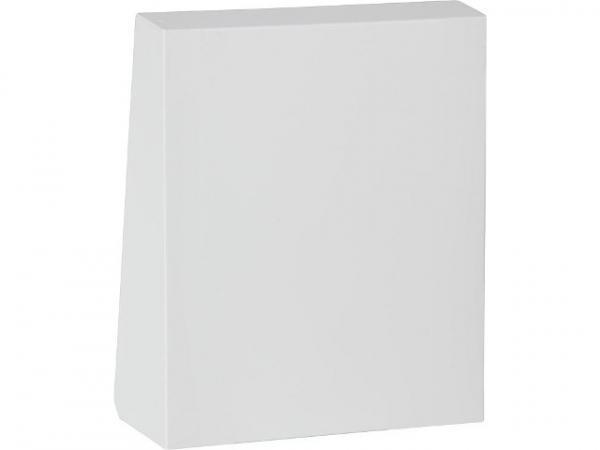 Lunos 040020 Außenhaube mit Schallschutz Alu weiß RAL 9016 für e²