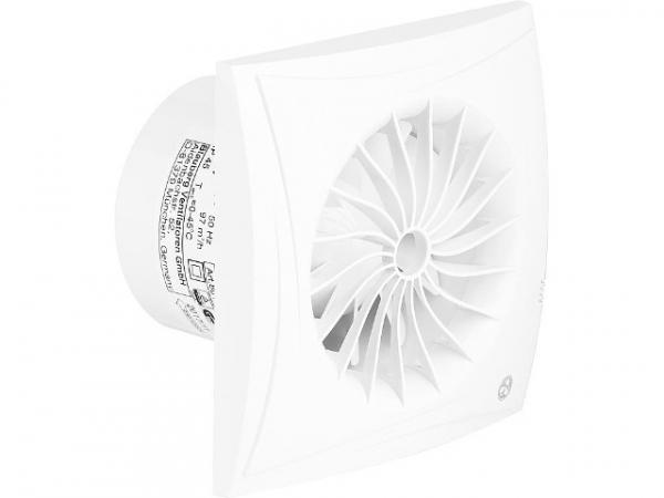 BLAUBERG Kleinraum-Ventilator Sileo 100 H Feuchtesensor und Nachlauf V-97 m3/h