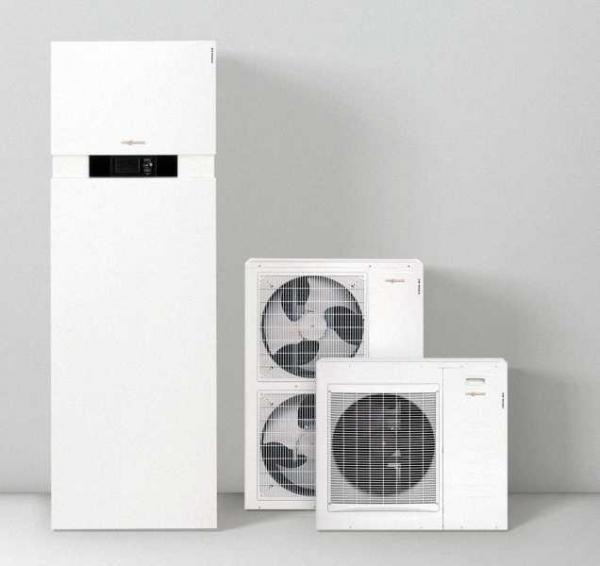 VIESSMANN Z011465 Vitocal 222-S, TypAWT-AC221. A10 Split Luft/Wasser-Wärmepumpe mit 7,7 kW