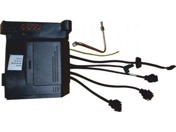 WOLF 2484553 CSK-Ölfeuerungsautomat TCH-121.08(schwarz, mit 150 sec Nachspülzeit)Ersatz für Ölfeuerungsautomat SH 124 C1(transparent) und SH