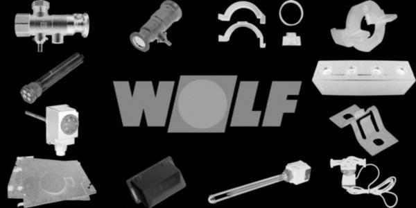 WOLF 8907817 Designelement komplett, Weiß