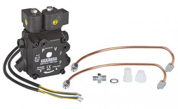 SUNTEC Ölpumpe AT 2 45 mit Anschlussteilen Giersch 47-90-12645