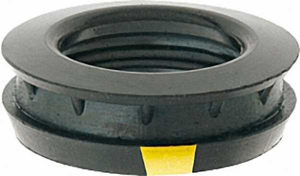 GEKA plus-Hochleistungs- Formdichtring EPDM, Form 300, schwarz, gelb markiert, DIN 53505A