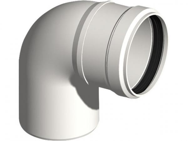 Kunststoff-Abgassystem Bogen 87° - DN 110