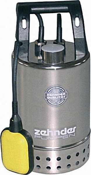 ZEHNDER 15239 Schmutzwassertauchpumpe Edelstahl E-ZW 80 A
