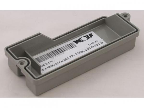 WOLF 1710010 Klemmkasten Deckel Regelung