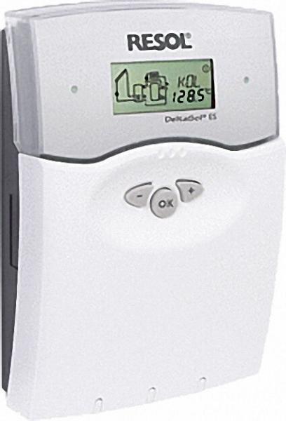 RESOL Differenztemperaturregler DeltaSol ES Komlettpaket mit 5 Fühler