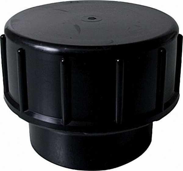 VALSIR Verschlusskappe mit Unterteil PEHD D 110, DN=100