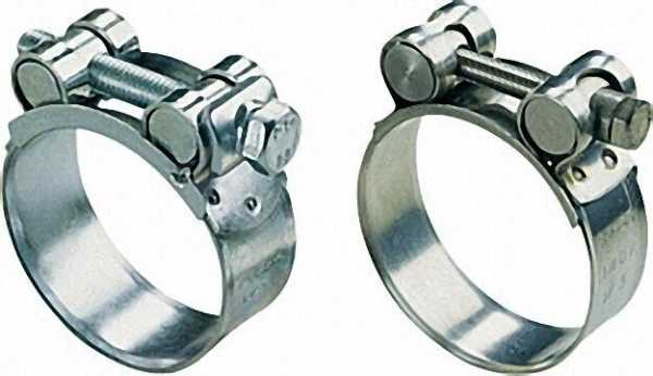 Gelenkbolzenschellen Stahl verz. - W1 Bandbreite 25mm/Dm 98-103mm
