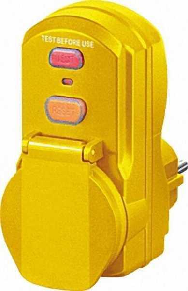 Personenschutz-Adapter IP 54