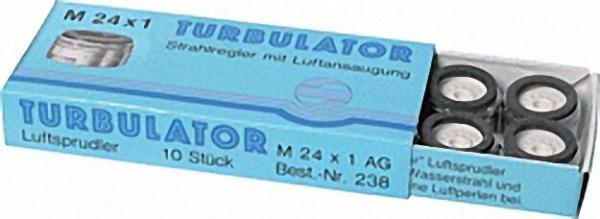 Perlator mit Luftansaugung M 24 x 1 AG 10 Stück ohne Prüfzeichen