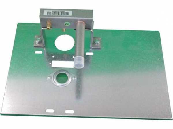 WOLF 2800315 Brennerplatte mit Gasverteilrohrund Düsen Erdgas E