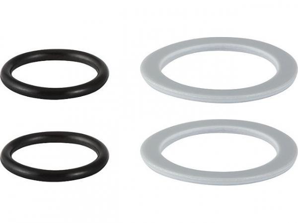 Geberit Mepla Dichtungsset EPDM/PE-LD d50 bestehend aus 2x O-Ring und Scheibe 606910005