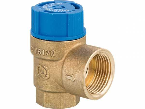 Membran Sicherheitsventil EVENES DN15 (1/2') 10 bar Trinkwasser Überdruckventil