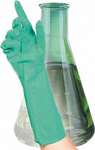 Chemikalien-/ Schutzhandschuh Nitril L / VPE 12 Paar