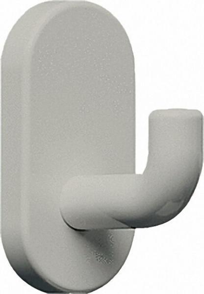 Wandhaken aus Nylon Farbe: Weiß 19 ohne Befestigung