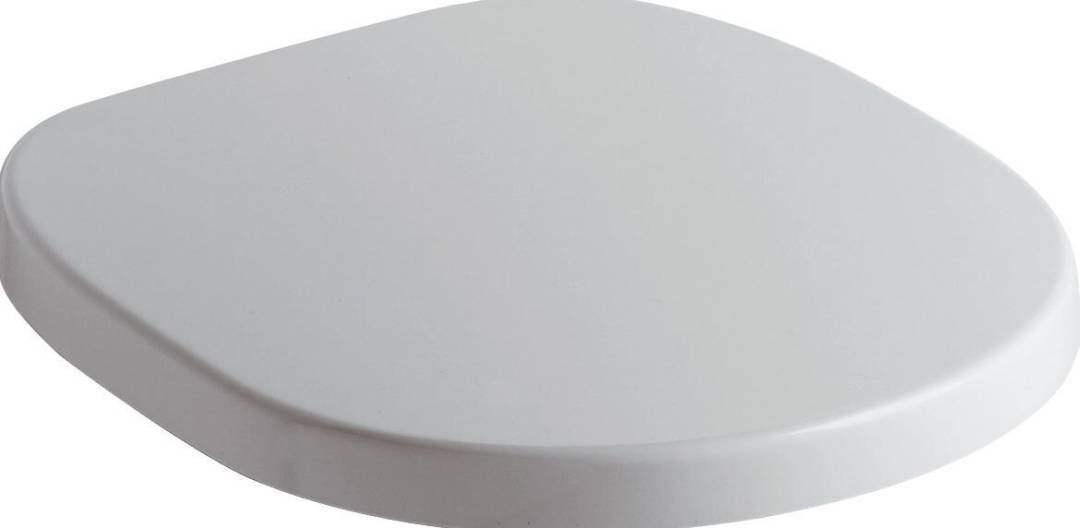E712801 CONNECT WC-Sitz, weiß, Scharniere Edelstahl