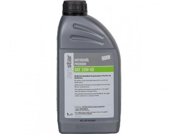 Motorenöl SAE 10W-40 Premium Inhalt 1000ml