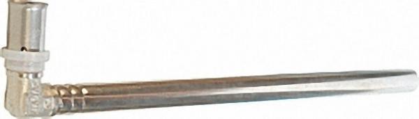 Pressfitting für MSVR Heizkörperanschluss Winkel vernickelt 20x2 1100mm, einzeln