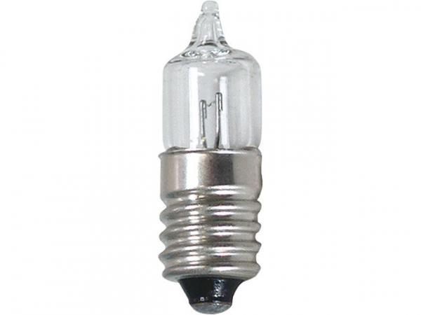 Miniwatt-Halogenlampe E10 5,2V, 0,5A