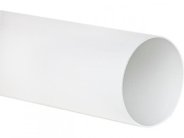 Rundrohr 66930 DN 150 0,5m weiß
