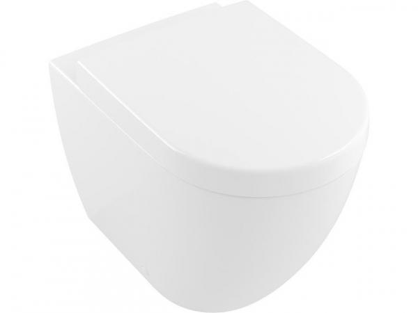 Stand-Tiefspül-WC spülrandlos, V&B Subway 2.0 weiß