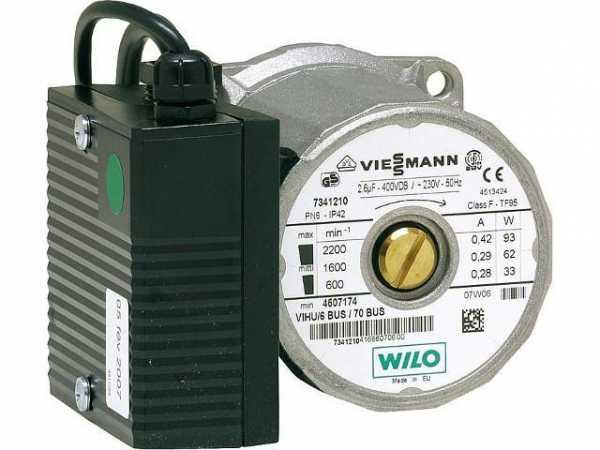 VIESSMANN 7837520 Umwälzpumpenkopf VIHU6/BUS 70