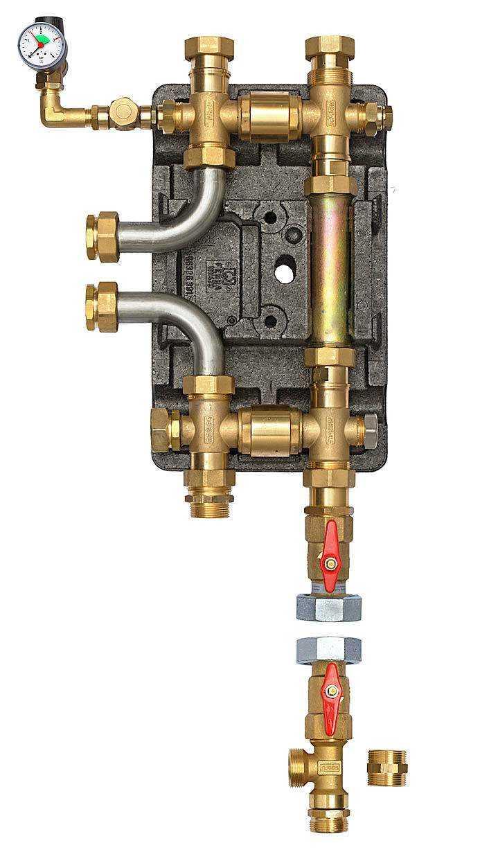 358390 DDV25 Doppelt Differenzdruckloser Verteiler
