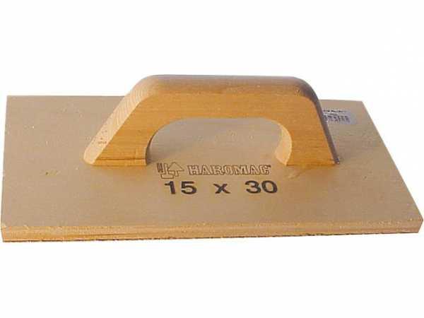 Schleifbrett Holz/P16 30x15cm
