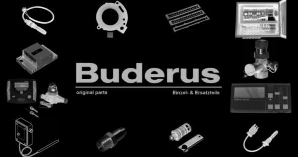 Buderus 63015291 Flammtopf S325-68 BE D462xL1099 everp