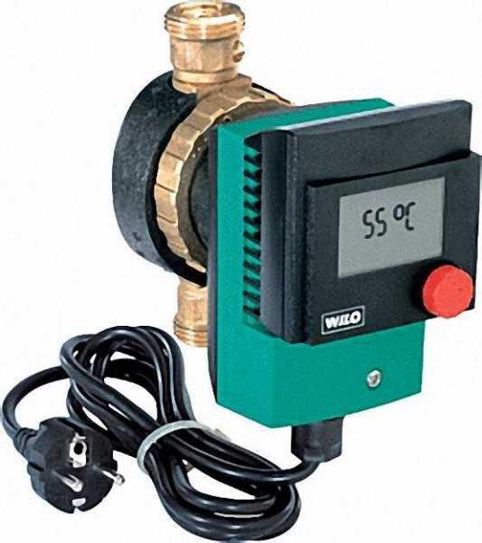 WILO 4092213 Trinkwarmwasser-Zirkulationspumpe Star-Z 15 TT BL 138mm 1/2''