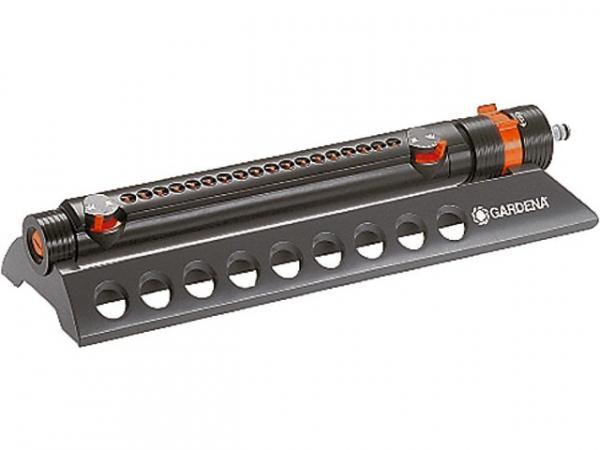 GARDENA Viereckregner Aquazoom 350/2 Stufenlose Sprengbreite bis 350m²