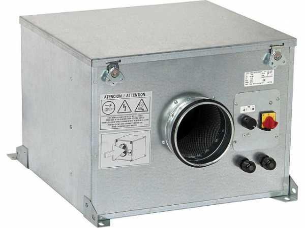 S&P Lüftungsbox schallgedämmt CAB 150 Ecowatt