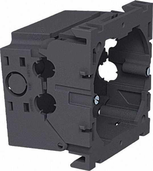 Geräteeinbaudose, einfach steingrau Typ 71GD6 / VPE 5 Stück