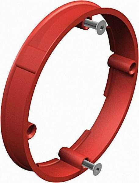 Putzausgleichsring Unterputz, D=60mm Typ UG 60 PA/12, rot / VPE 25 Stück
