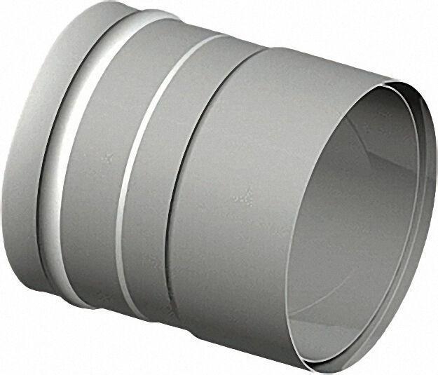 Doppeltes Wandfutter Rauchrohr D 180 max. Wanddicke 2,0mm