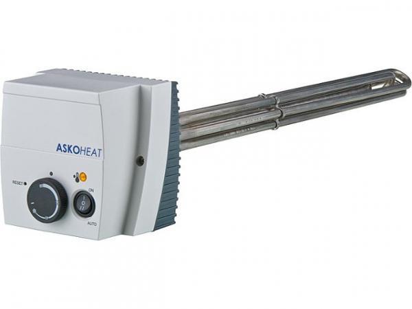 Einschraubheizkörper mit Schalter 6,0KW 1 1/2'' 230V AC/3x400 V AC Länge: 600mm