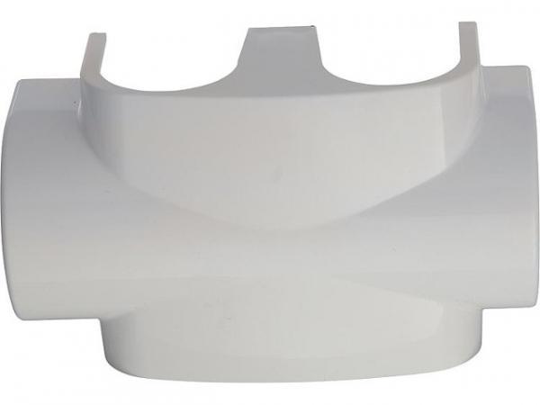 Heimeier 3850-10.553 spezielle DesignLine Verkleidung für Zweipunktanschluss weiß, RAL 9016
