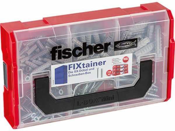 Fischer 532891 FIXtainer - SX-Dübel u Schrauben-Box