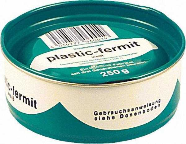 FERMIT Plastik weiß 1/4 kg Dose (W117)