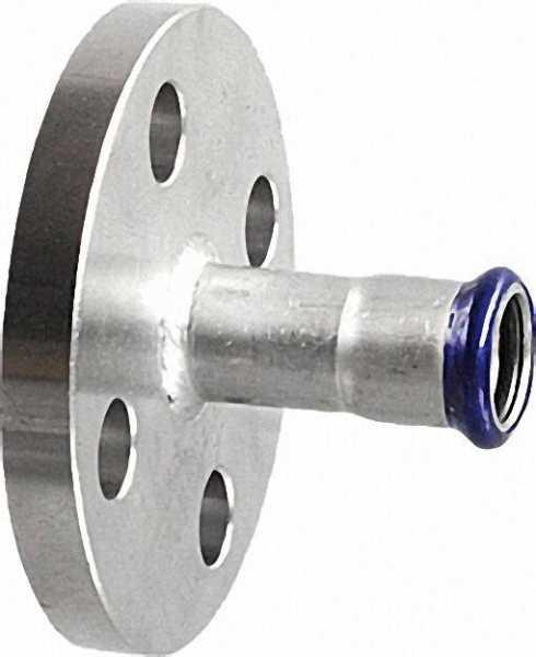 Edelstahl Pressfitting Übergangsflansch PN16, 18mm