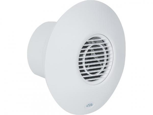 Airflow iCON 60 Kleinraum-Ventilator 260m³/h 230V NW 150 weiß Abluftventilator