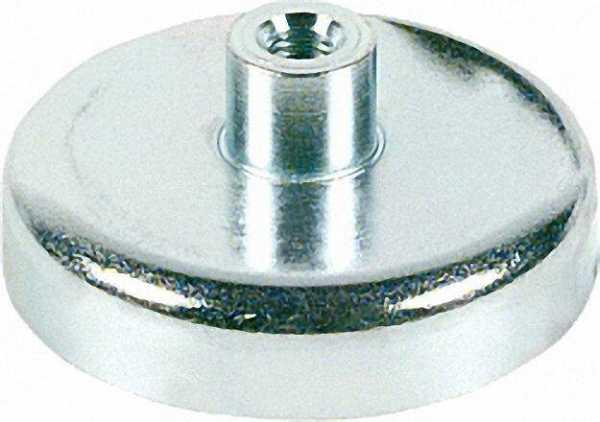 Magnetflachgreifer mit Gewindeb. max. Einsatztemp,200°C Abmit 13 x 11,5mm, 1 Stück