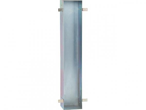 Stahl-Einbaurahmen, WC Einbaucontainer, BxHxT: 168x800x165 mm